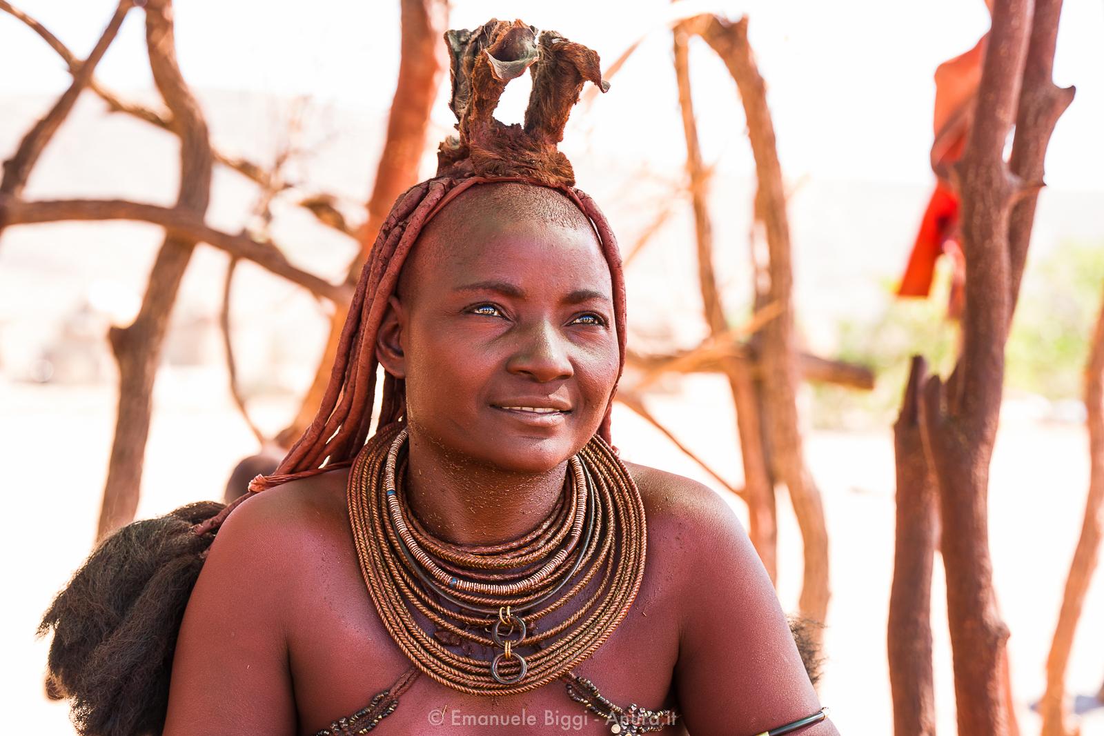 Ritratto di donna namibiana