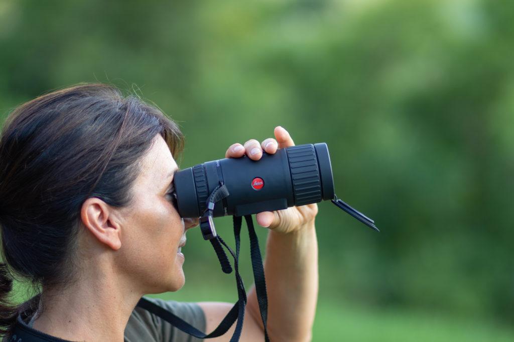 Leica Calonox View è ultra leggero e ultacompatto.