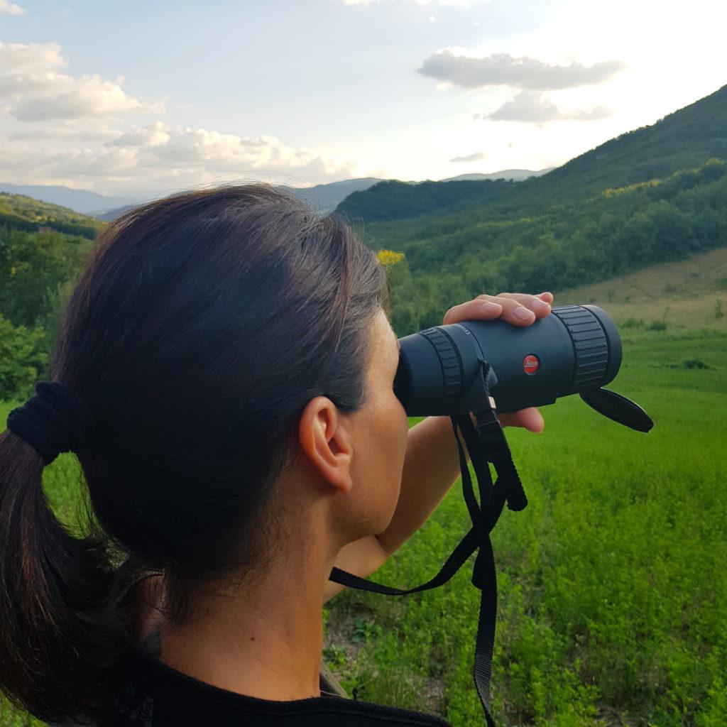 nuovo visore termico Leica Calonox View per il riconoscimento delle specie selvatiche