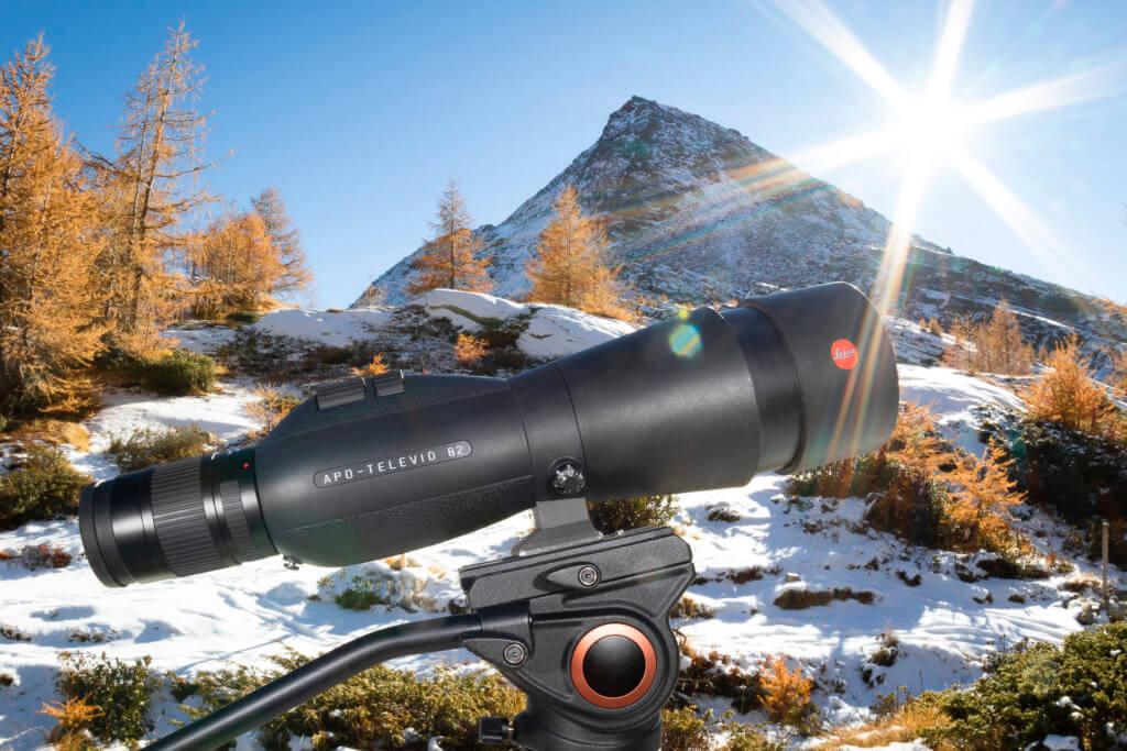 Cannocchiale Leica APO televid 82 mm – foto di Luca Eberle