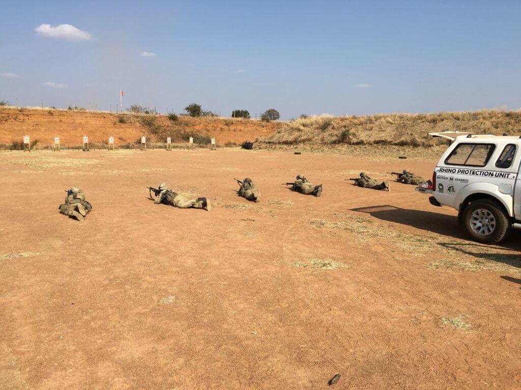 Leica per la formazione ranger presso poligono della polizia sudafricana