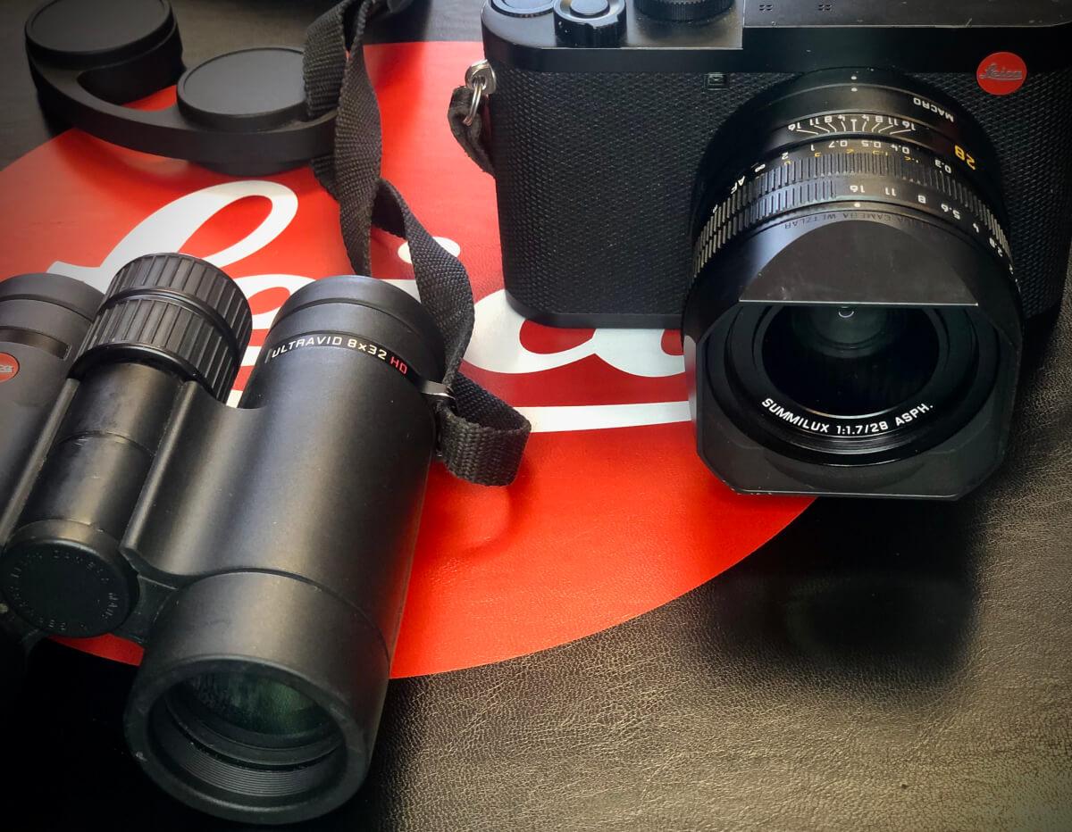 Il binocolo Leica Ultravid 8x32 e la nuova fotocamera Q2 sono gli strumenti da lavoro che utilizzo tutti i giorni perchè compatti, leggeri, ma ultra performanti  Leica Natura Tatiana Chiavegato